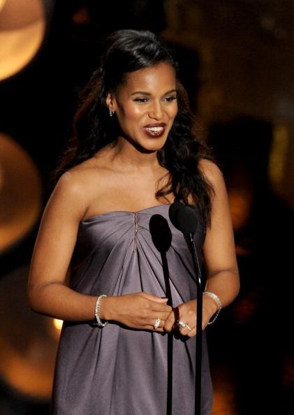 """Perhaps best known as slick-talking Olivia Pope in """"Scandal"""", Kerry Washington has been earning her dues with zeal for 20 years. In spite of"""