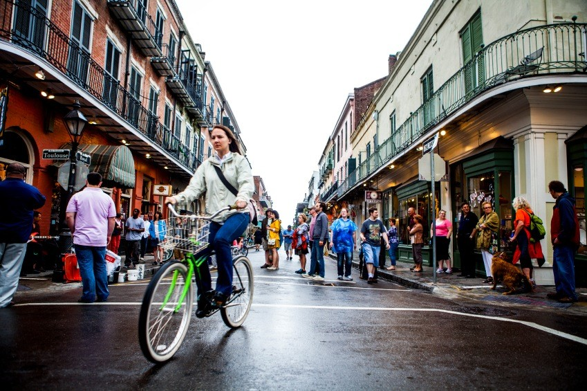 Go green and experience New Orleans on two wheels