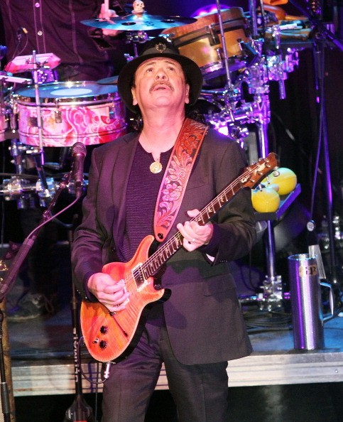 Carlos Santana performs 'Saideira' on 'Good Morning America'