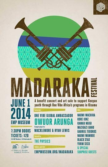 Madaraka Festival: Help One Vibe Africa spread love and music to Kenya's youth