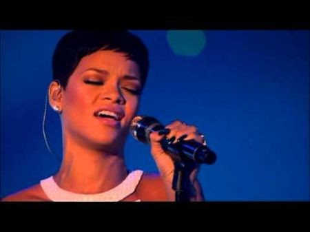 Rihanna performs 'Stay' and 'We Found Love' medley on 'X Factor'