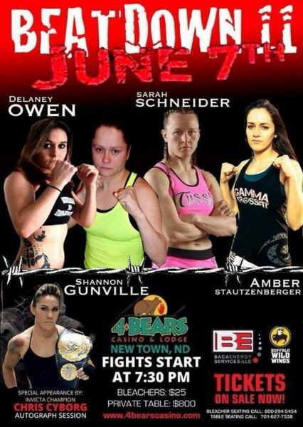 Exclusive interview with Invicta FC strawweight Delaney Owen
