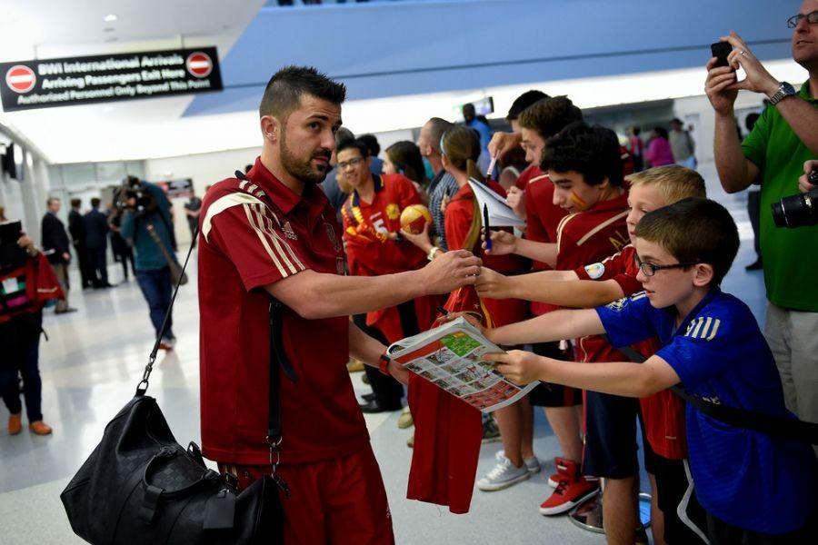 David Villa signs 3-Year contract in MLS