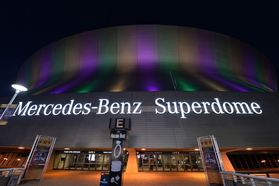 Guide to the mercedes benz superdome axs for Mercedes benz of music city
