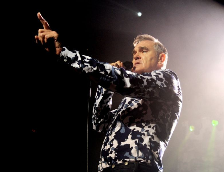 Morrissey cancels US tour, blames opener for illness