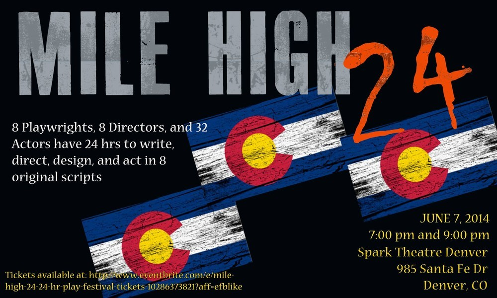 The Mile High 24 Play Festival: Creating eight one-act plays in 24 hours