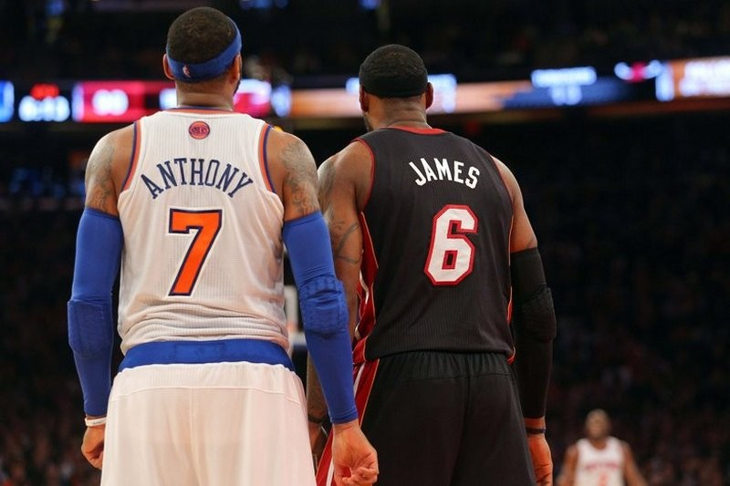 Is it possible for the Atlanta Hawks to land LeBron James or Carmelo Anthony?