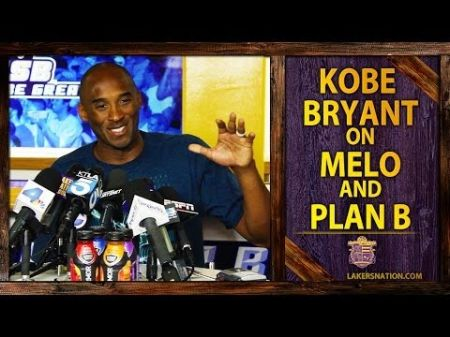 Kobe Bryant says Lakers still have 'several options' without Carmelo Anthony