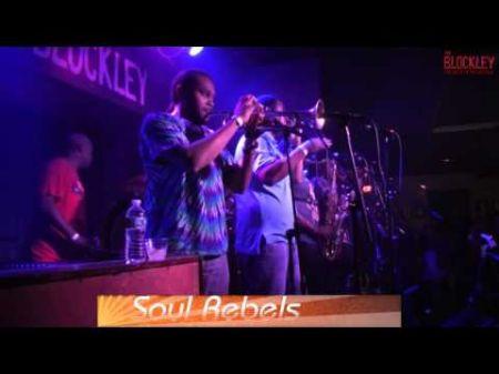 Soul Rebels brass band get hip hop with Joey Bada$$