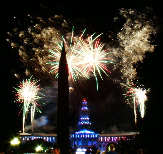 Best places to watch 4th of July fireworks in Denver