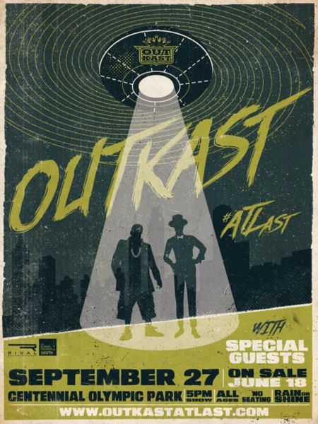 Outkast to perform hometown show at Centennial Park in Atlanta