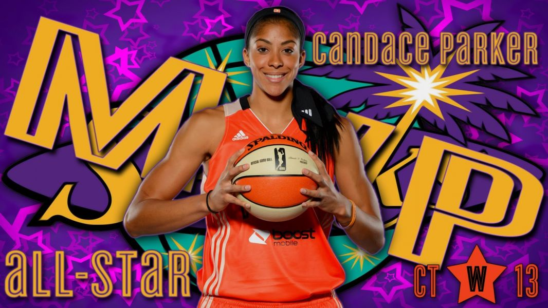 Candace Parker named the 2014 All-Star