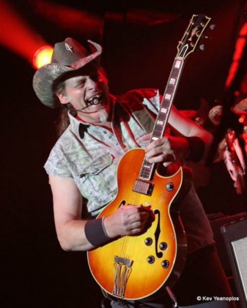 Ted Nugent concert at Native American casino canceled because of obvious reasons