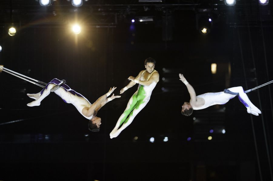 The five coolest circus performers