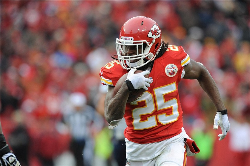 Kansas City Chiefs make Jamaal Charles second highest paid running back in NFL
