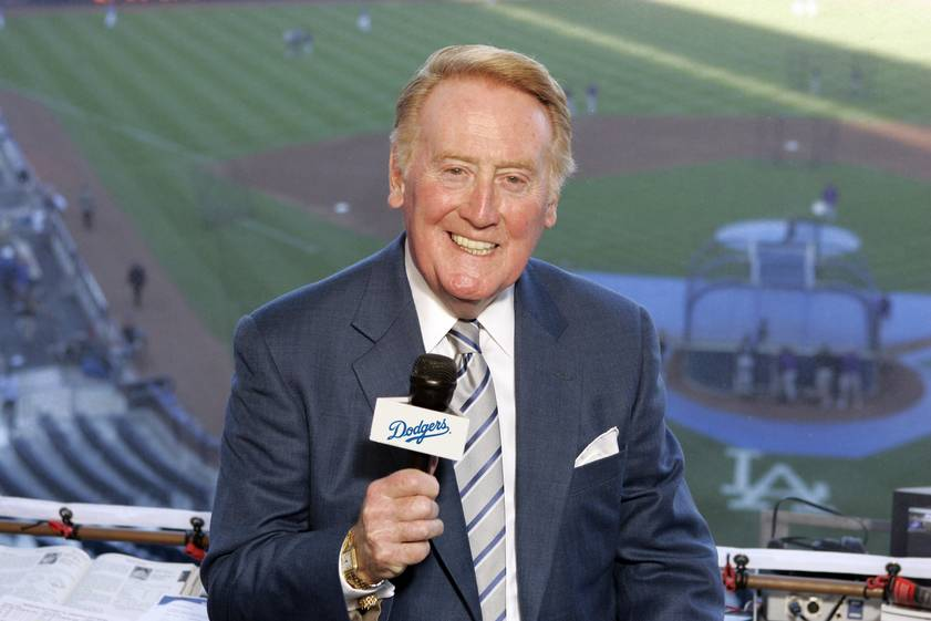 The Legendary voice of Vin Scully returns in 2015