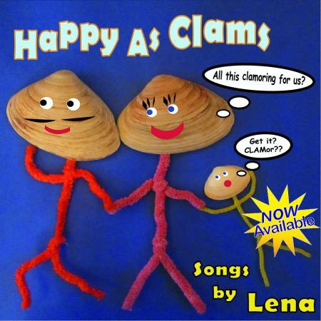 Don't be fooled by the painfully cute clam puns on the cover of Happy As Clams because Lena has a sinister wit that would make Montgomery Bu