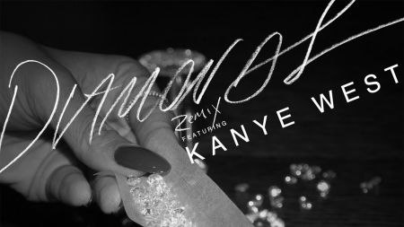 Rihanna releases official 'Diamonds' remix featuring Kanye West