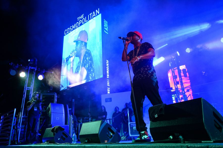 Juicy J thrills at The Cosmopolitan of Las Vegas