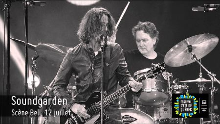 While on tour, Soundgarden without drummer Matt Cameron