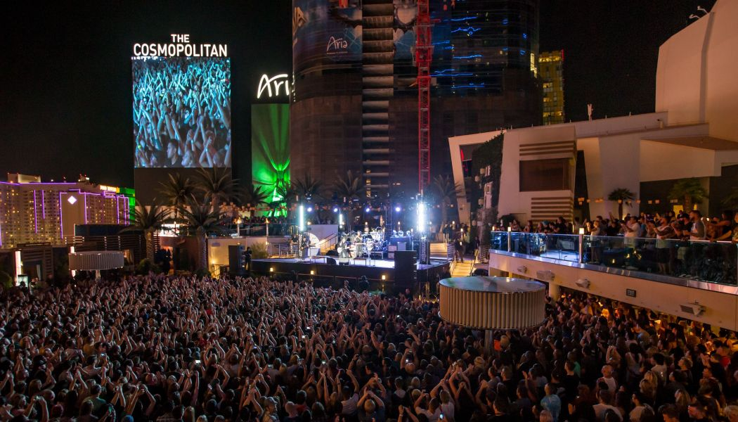 Fall Out Boy rocks The Cosmopolitan of Las Vegas