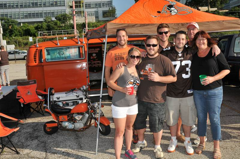 The best Cleveland Browns tailgating  mobiles