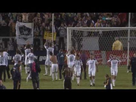 LA Galaxy chasing the Supporters' Shield award
