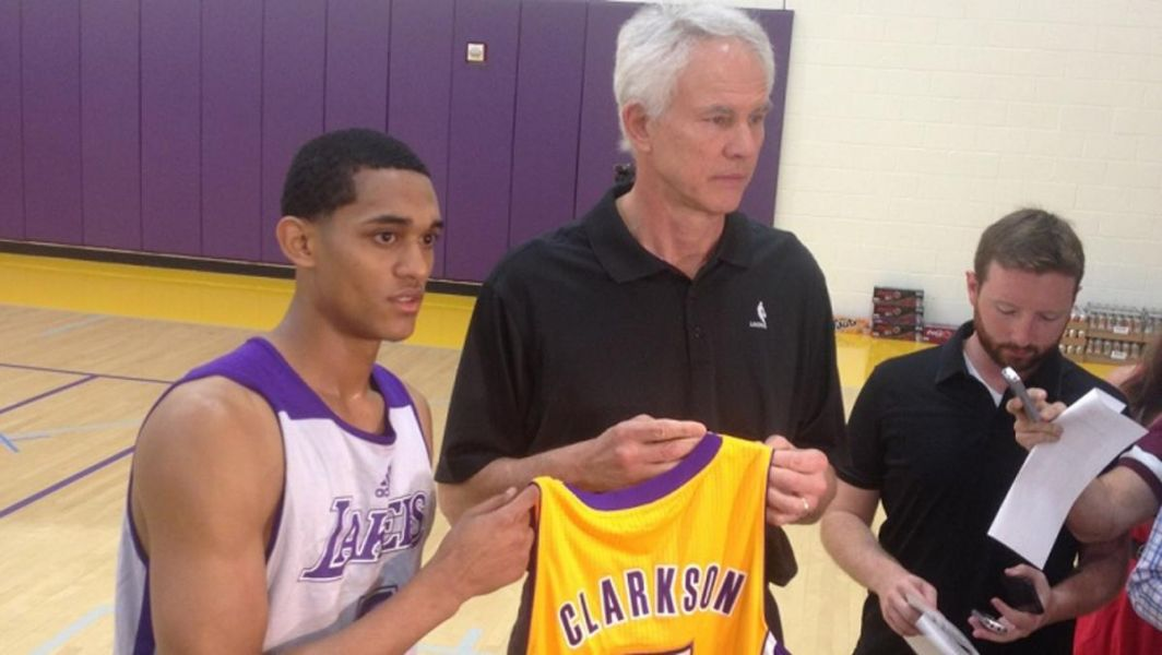 Jordan Clarkson expected to sign rookie contract before training camp