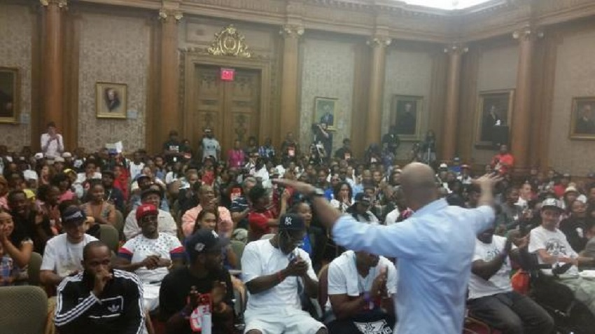 HOT 97's 'Street Soldiers' presents the Push 4 Peace Town Hall Show