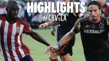 LA Galaxy win last 2014 SuperClasico against the Chiva USA