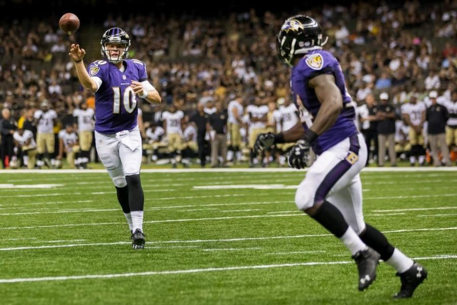 Rookie quarterback Keith Wenning signed to Baltimore Ravens' practice squad
