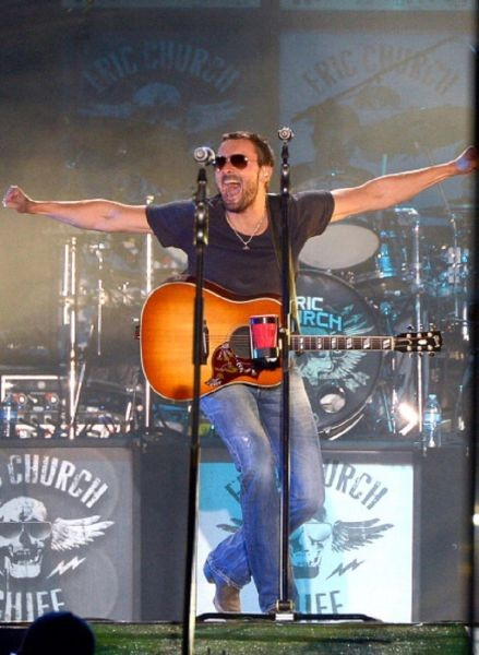 Eric Church to perform at concert benefitting GRAMMY foundation