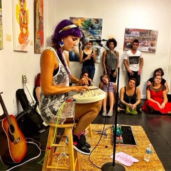 With riveting music and beautiful art, Inner Recess hosts a New Orleans benefit