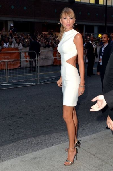 Taylor Swift looks sleek in Calvin Klein at Toronto International Film Festival