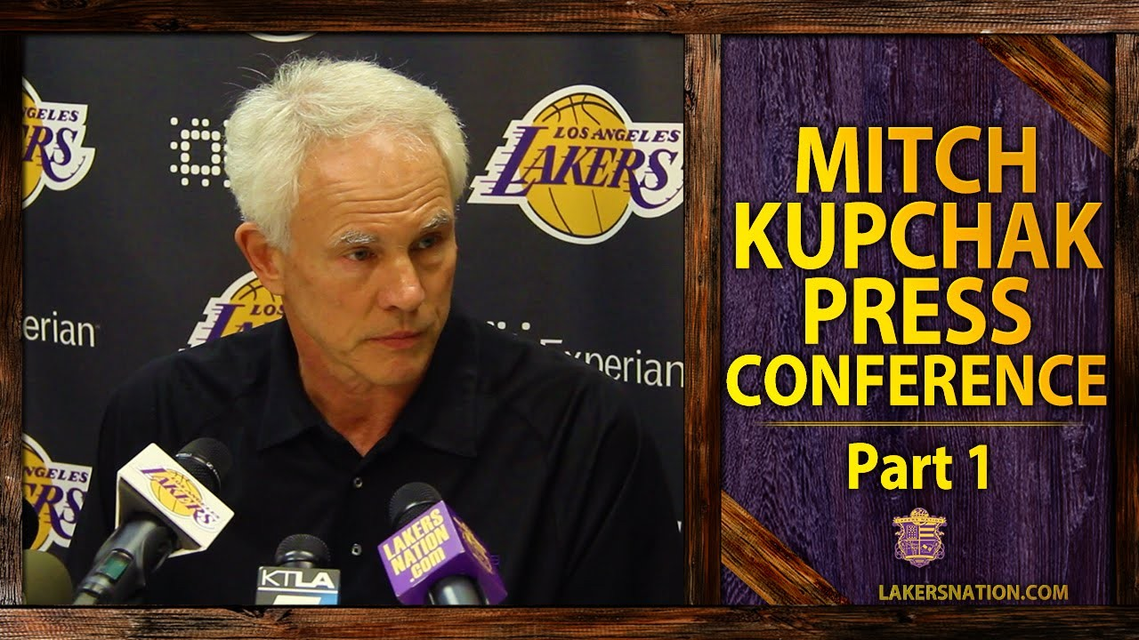 Mitch Kupchak says winning a championship is still the goal for