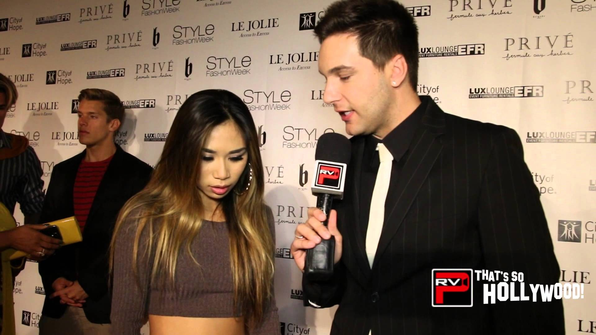 Jessica Sanchez Saves The Day For Andre Soriano At Style