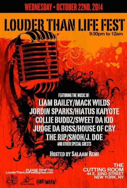 Re-cap of Louder Than Life showcase presented by Salaam Remi