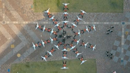 Watch: OK Go's new video will make you want to buy a drone, umbrella