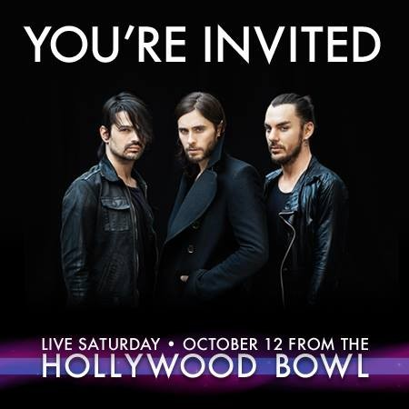 Show Preview: Thirty Seconds to Mars live at The Hollywood Bowl on Oct. 12