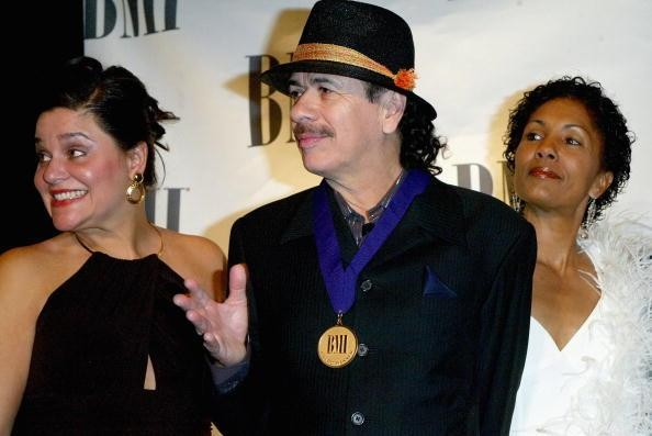 Carlos Santana receives special citation from the Broadcast Music, Inc. (BMI)