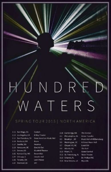 Hundred Waters to tour Spring of 2015