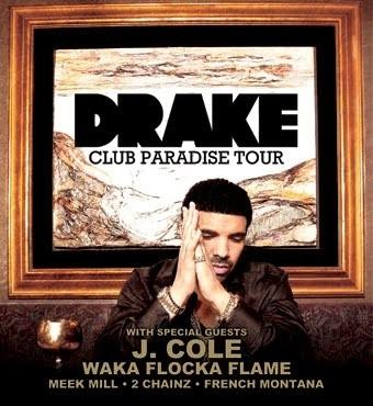 Drake announces summer 2012 headlining tour dates