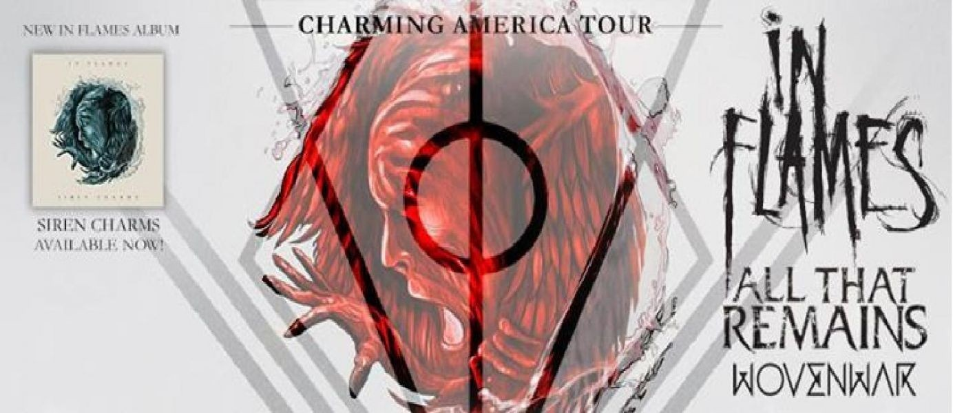 Showbox SoDo presents: In Flames Charming America Tour with All That Remains