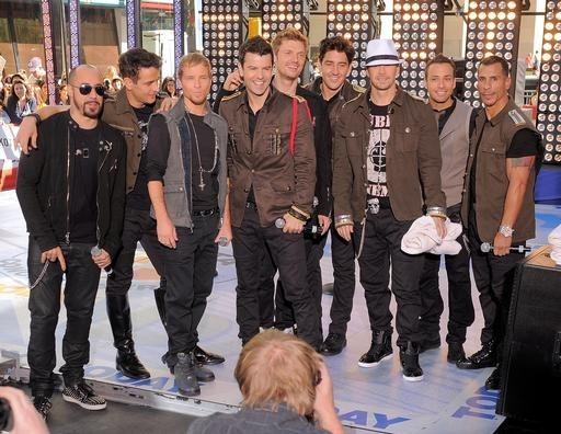New Kids On The Block and Backstreet Boys announce 2012 UK Tour dates