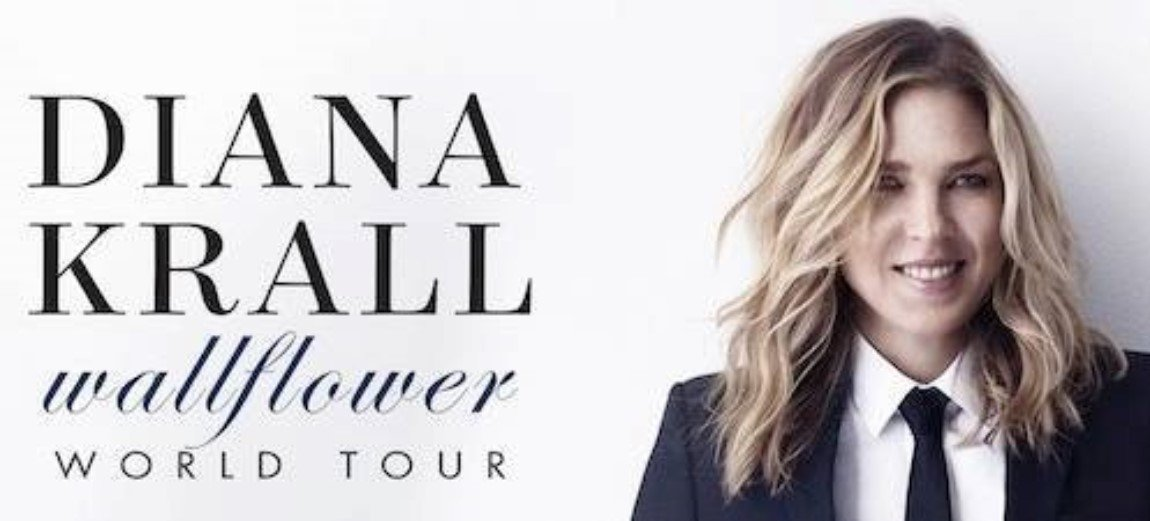 Diana Krall Canadian Tour Dates