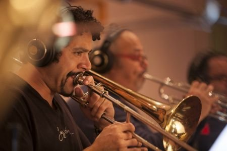 The Grammy-winning Spanish Harlem Orchestra plays Latin jazz straight from New York City. But the Latin jazz this 13-piece, all-star salsa b
