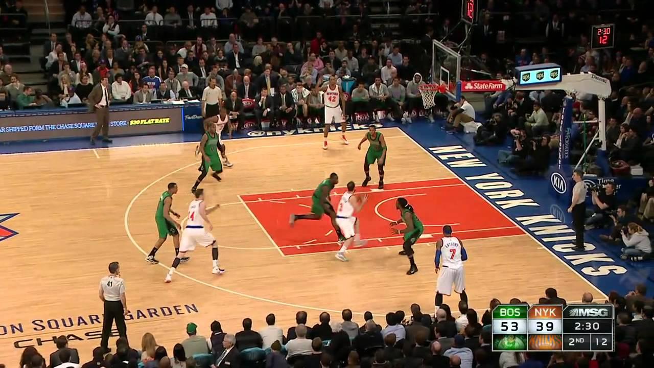Boston Celtics Cruise By New York Knicks At Madison Square Garden 108 97 Axs