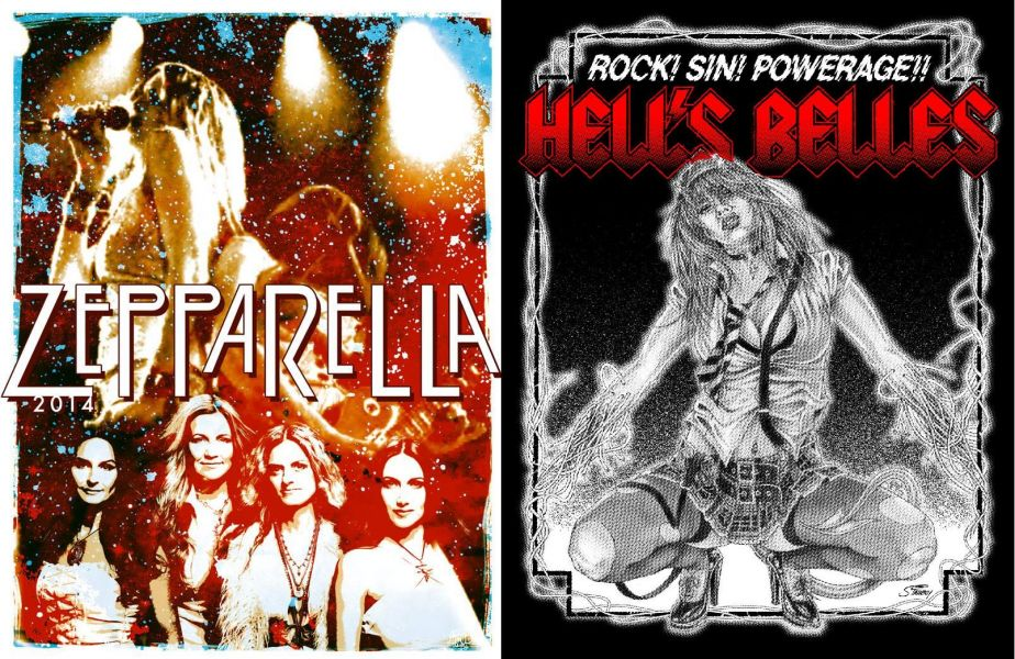 Stairway to Heaven on the Highway to Hell Tour with Zepparella & Hell's Belles