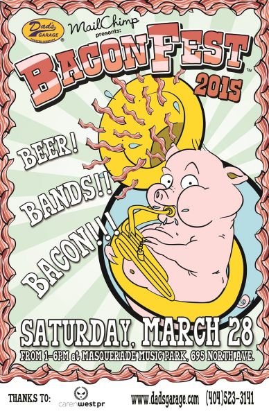 Masquerade Music Park to host the 15th Annual Baconfest