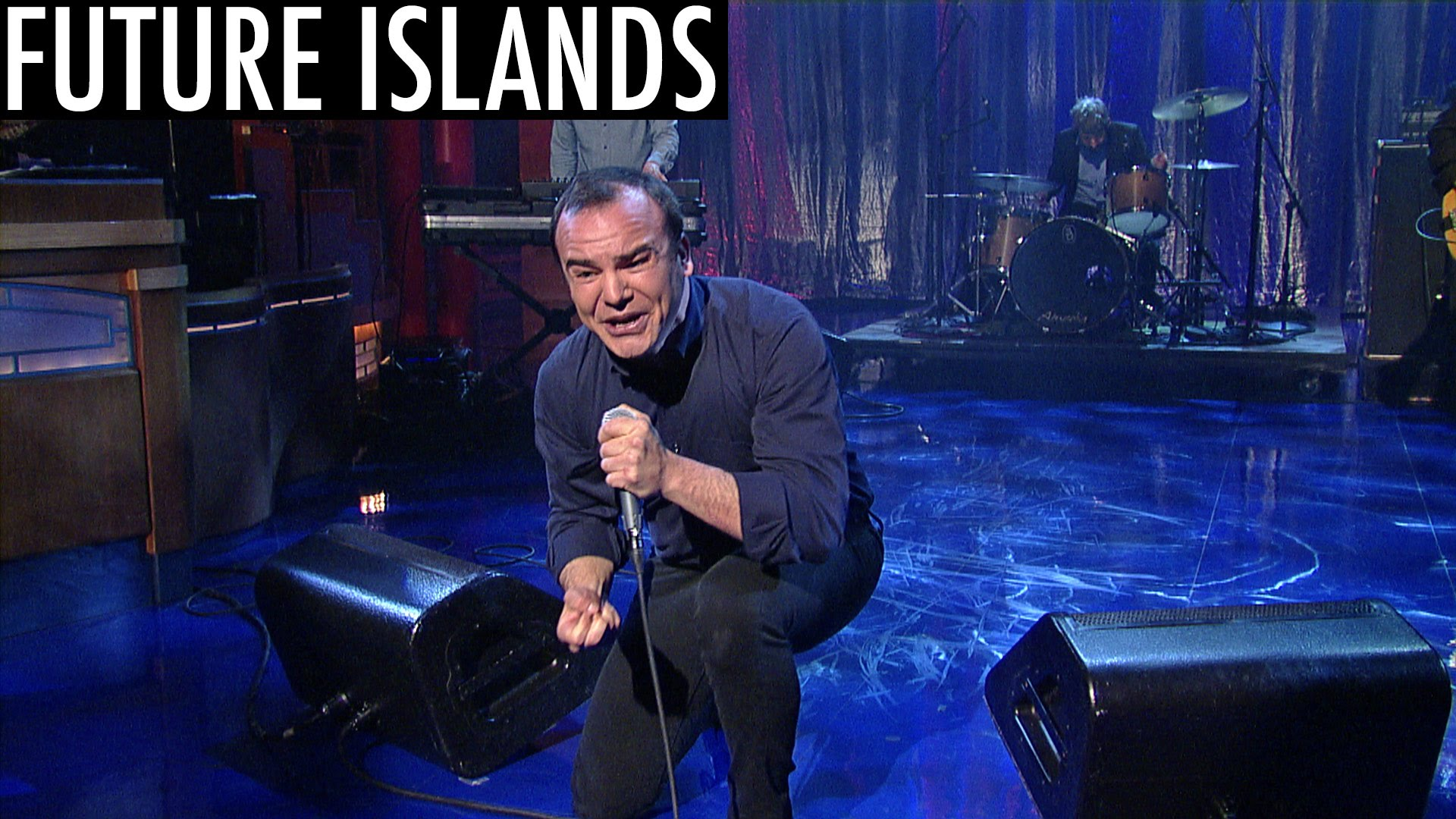 Future Islands return to Letterman, share new single 'The Chase'